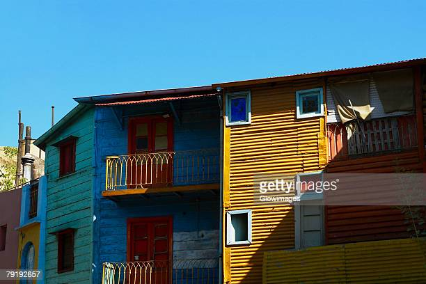 Low angle view of a building, La Boca, Buenos Aires, Argentina