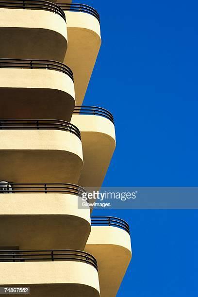 Low angle view of a building, Miami, Florida, USA
