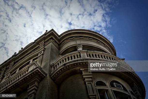 low angle view of a building - andres ruffo stock pictures, royalty-free photos & images