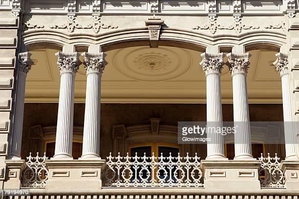 low angle view of a building, state capitol building, iolani palace, honolulu, oahu, hawaii islands, usa - palácio - fotografias e filmes do acervo
