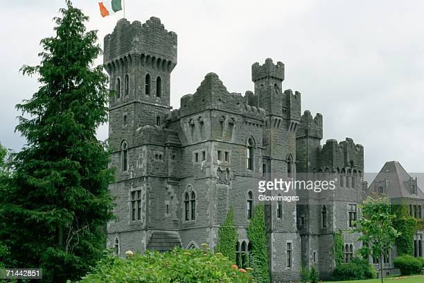 Low angle view of a castle, Ashford Castle, Republic of Ireland