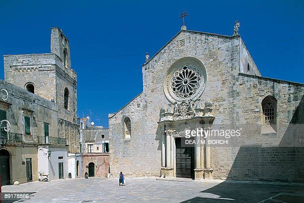 Low angle view of a cathedral Otranto Lecce Puglia Italy