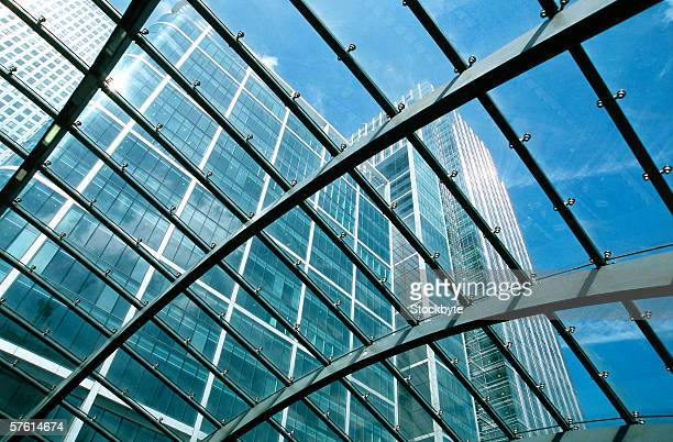 Low angle view of a high rise office building