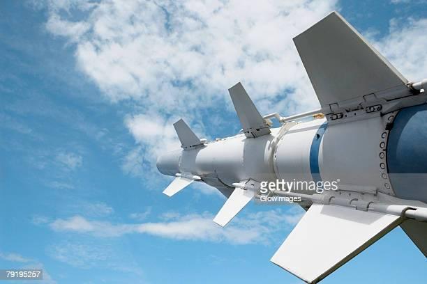 Low angle view of a missile, Pearl Harbor, Honolulu, Oahu, Hawaii Islands, USA