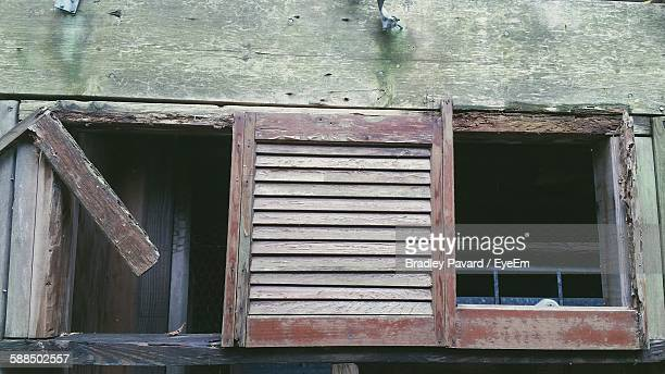 low angle view of abandoned building - pavard stock pictures, royalty-free photos & images