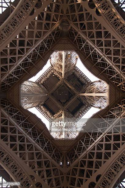 Low Angle View Of An Eiffel Tower
