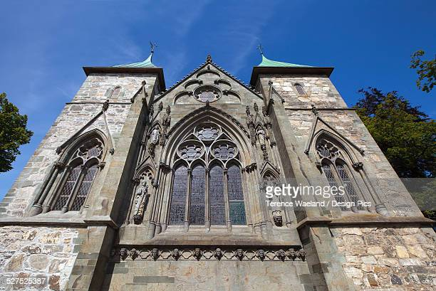 low angle view of an old church - terence waeland stock pictures, royalty-free photos & images