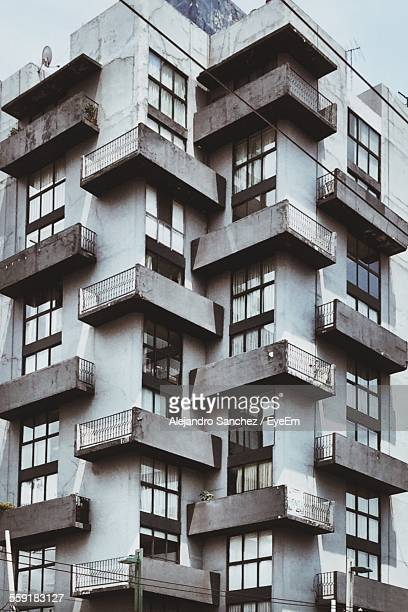 Low Angle View Of Apartment Building