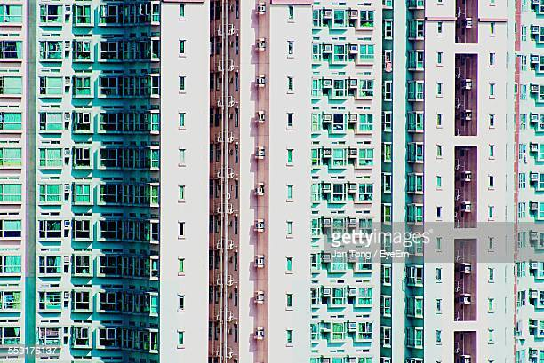 Low Angle View Of Apartment