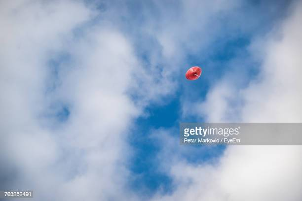 Low Angle View Of Balloon Against Sky