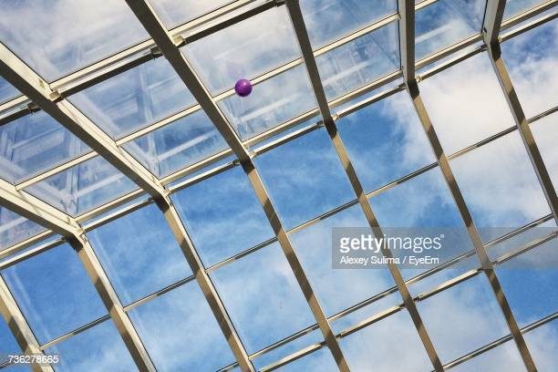 Low Angle View Of Balloon And Skylight