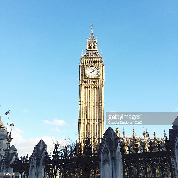 Low Angle View Of Big Ben