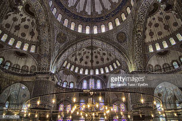 Low Angle View Of Blue Mosque