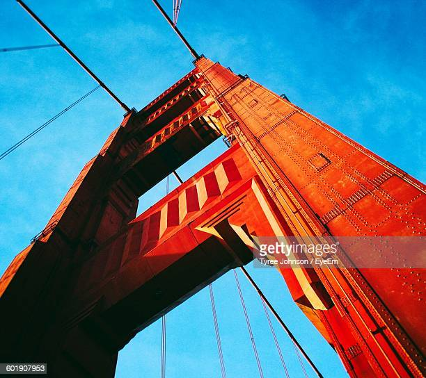 low angle view of bridge against sky - concord california stock pictures, royalty-free photos & images