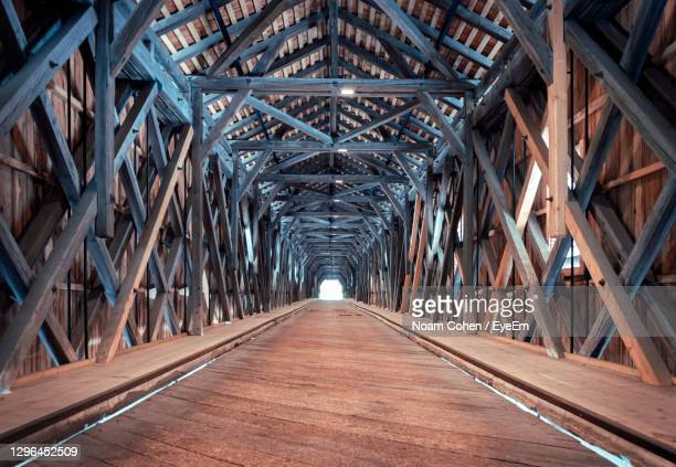 low angle view of bridge in tunnel - vaduz stock pictures, royalty-free photos & images