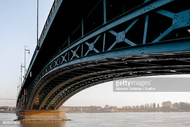 low angle view of bridge - albrecht schlotter stock photos and pictures