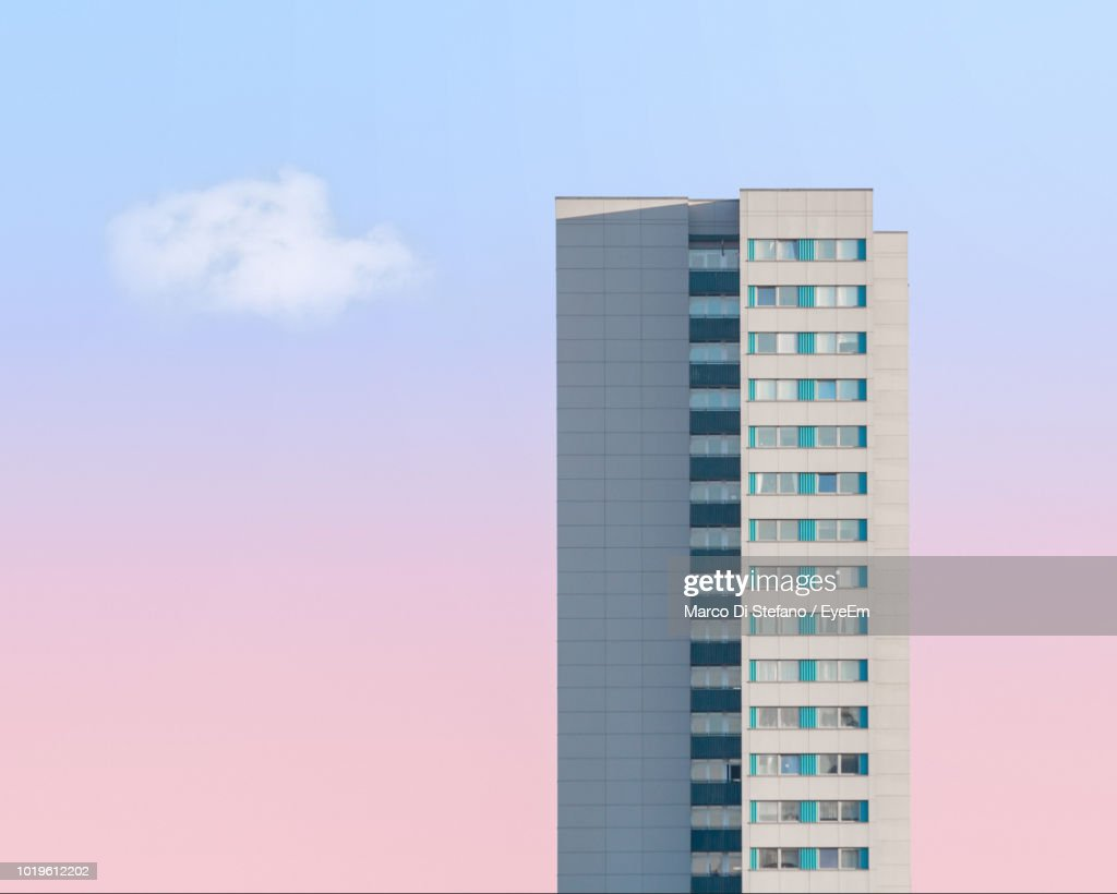 Low Angle View Of Building Against Sky : Stock Photo