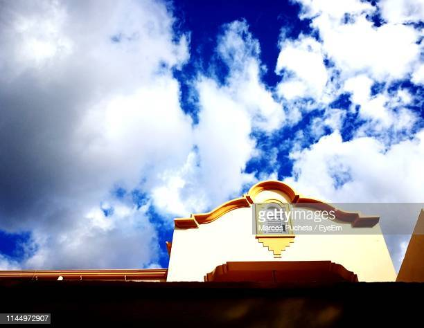 low angle view of building against sky - posadas stock pictures, royalty-free photos & images
