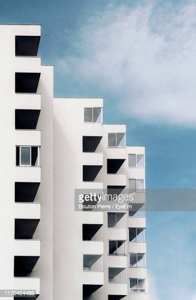 low angle view of building against sky - colors soundtrack stock pictures, royalty-free photos & images