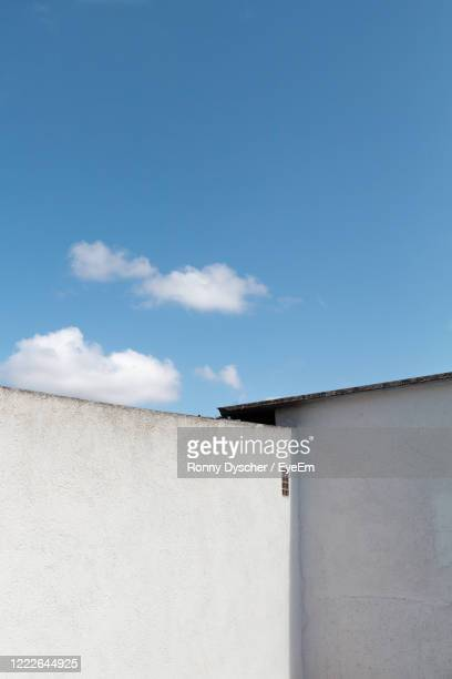 low angle view of building against sky - manacor stock pictures, royalty-free photos & images