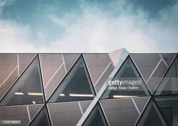 low angle view of building against sky - republic of ireland stock pictures, royalty-free photos & images