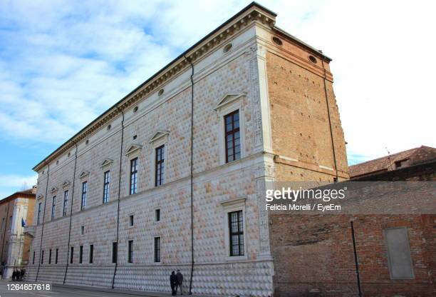 low angle view of building against sky - ferrara stock pictures, royalty-free photos & images