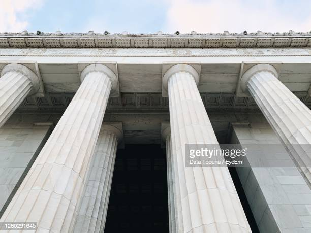 low angle view of building against sky - data topuria stock pictures, royalty-free photos & images