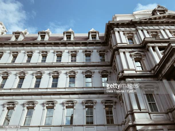 low angle view of building - data topuria stock pictures, royalty-free photos & images