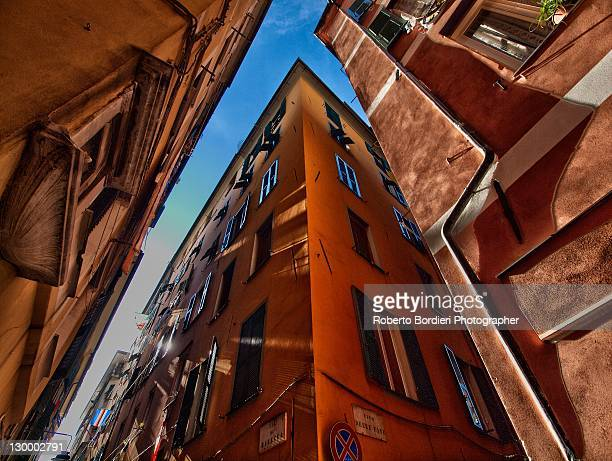 low angle  view of building - roberto bordieri foto e immagini stock