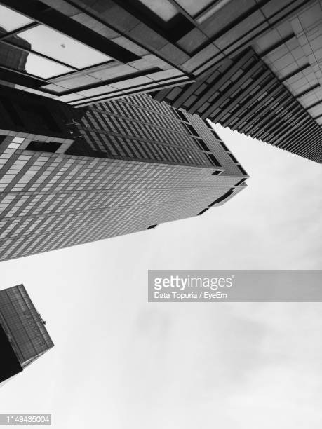 low angle view of buildings against sky - data topuria stock pictures, royalty-free photos & images