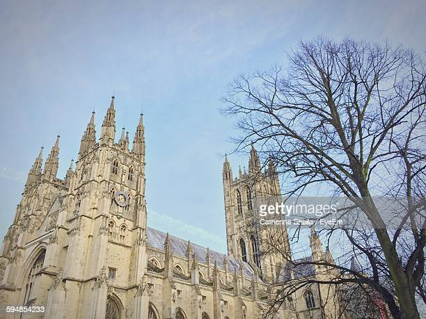 Low Angle View Of Canterbury Cathedral