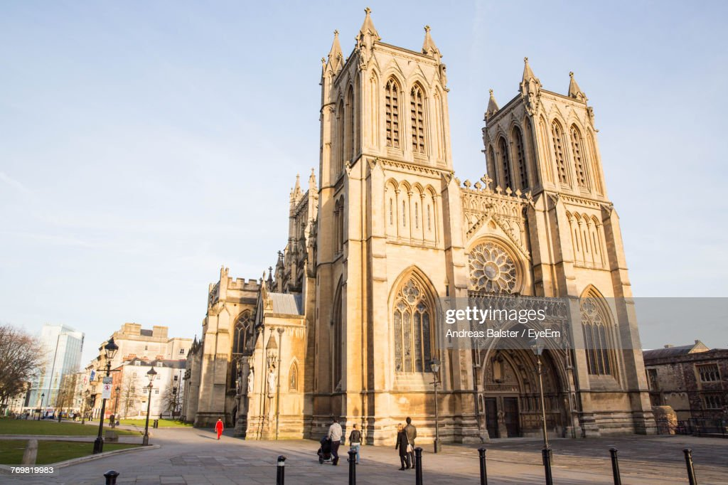 Low Angle View Of Cathedral Against Sky : Stock Photo