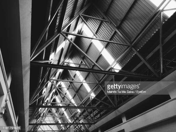 low angle view of ceiling in building - saka stock pictures, royalty-free photos & images
