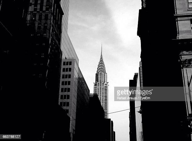 Low Angle View Of Chrysler Building Against Sky