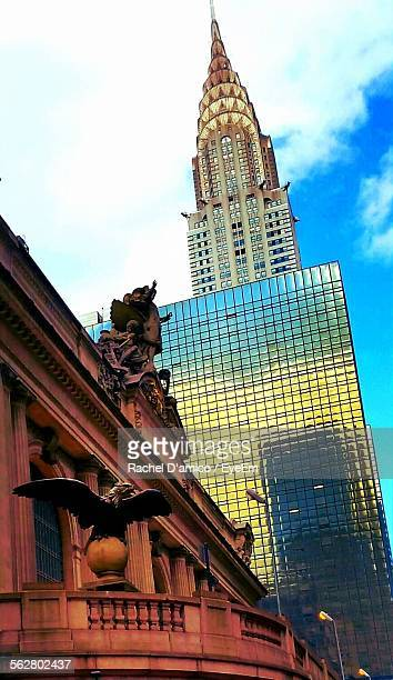Low Angle View Of Chrysler Building