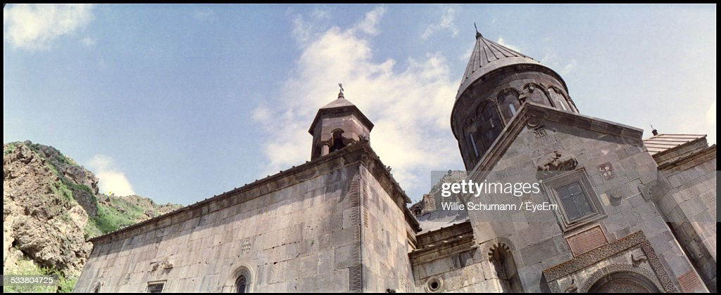 Low Angle View Of Church : Foto stock