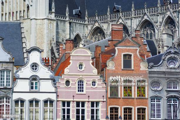 low angle view of church - mechelen stock pictures, royalty-free photos & images
