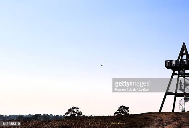 low angle view of clear blue sky - paulien tabak stock pictures, royalty-free photos & images