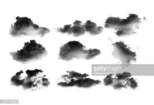 low angle view of clouds in sky - nube foto e immagini stock