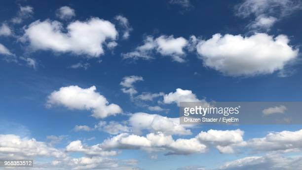 low angle view of clouds in sky - drazen stock pictures, royalty-free photos & images