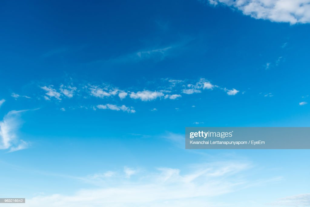Low Angle View Of Clouds In Sky : Stock Photo