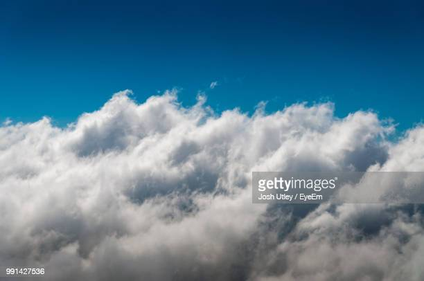 low angle view of clouds in sky - josh utley stock pictures, royalty-free photos & images