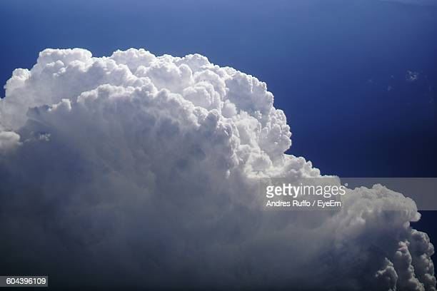 low angle view of cloudy blue sky - andres ruffo stock pictures, royalty-free photos & images