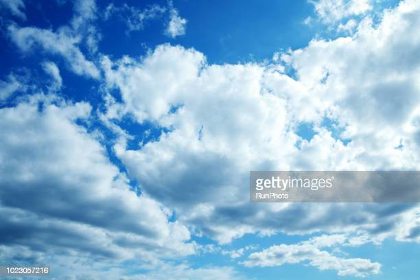 low angle view of cloudy sky - cloud sky stock pictures, royalty-free photos & images
