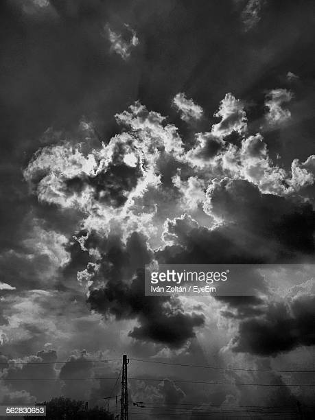 low angle view of cloudy sky - iván zoltán stock pictures, royalty-free photos & images