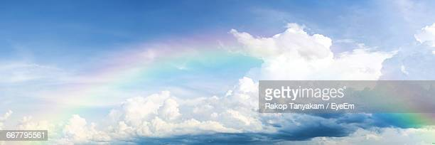 low angle view of cloudy sky - elysium stock pictures, royalty-free photos & images