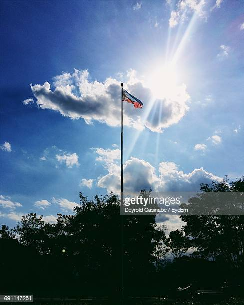 low angle view of cloudy sky - filipino flag stock pictures, royalty-free photos & images