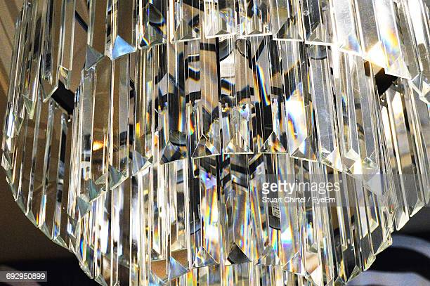 Low Angle View Of Crystal Chandelier