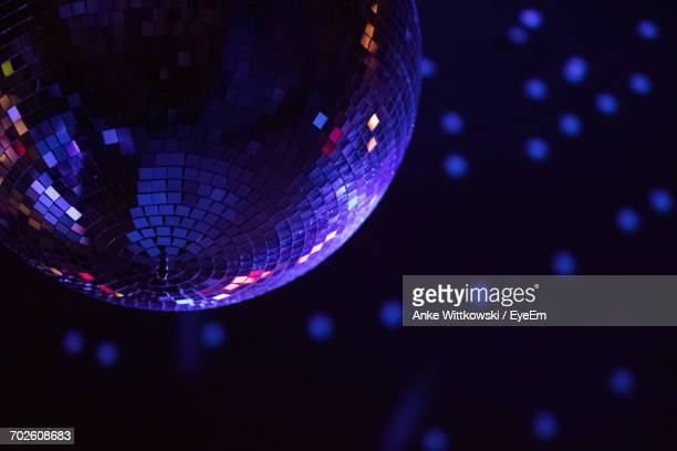 Low Angle View Of Disco Ball