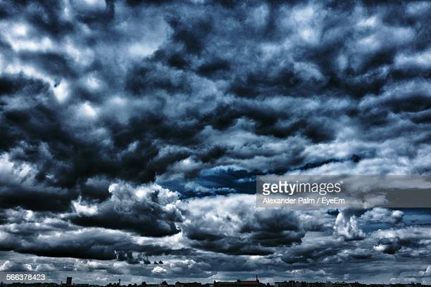 Low Angle View Of Dramatic Cloudscape